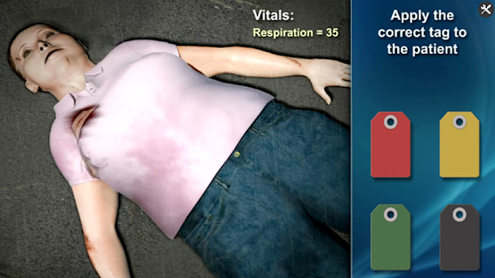 Medrills: Triage- screenshot thumbnail