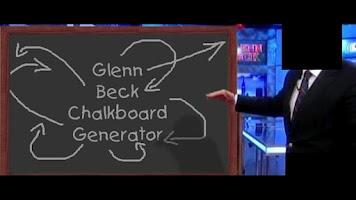 Screenshot of Glenn Beck's Chalkboard