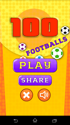 100フットボール