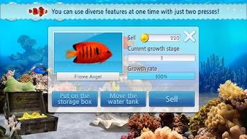 Screenshot of 3D Ocean☆Aquarium-Tablet