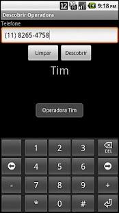 Descobrir Operadora- screenshot thumbnail