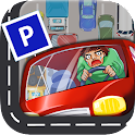 Parking Panic : brain test icon