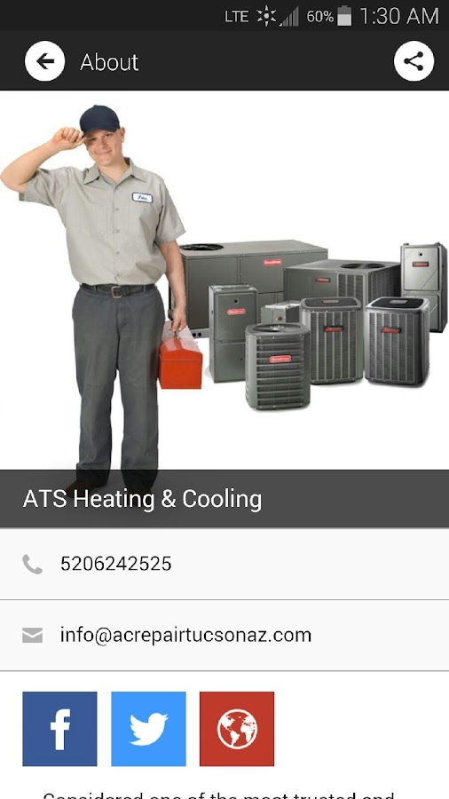 ATS Heating & Cooling- screenshot