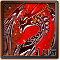 Black Tribal Dragon BatteryLWP icon