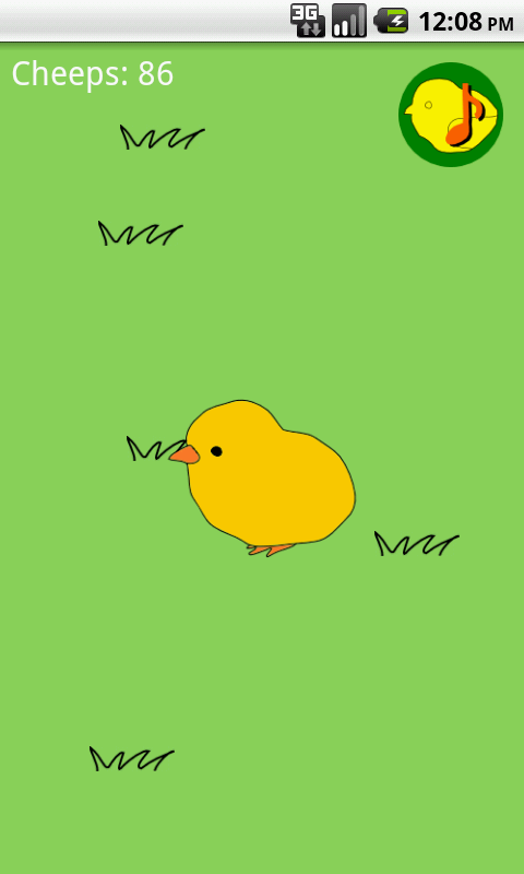 Cheeping Chick - screenshot