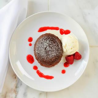Molten Chocolate Lava Cake.