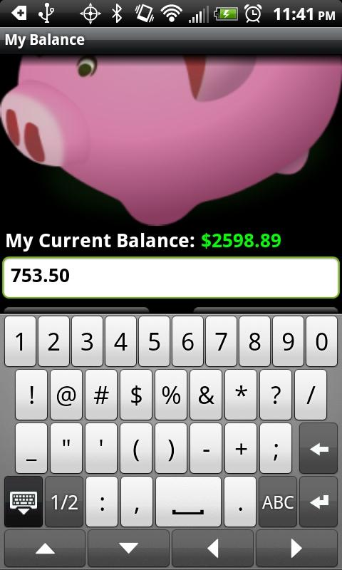 My Balance - screenshot