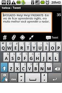 Droido - Piadas em Português- screenshot thumbnail