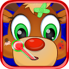 Christmas Pet Vet Doctor Hospital Santa Pets Game icon