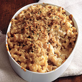 Macaroni and Cheese with Cauliflower.