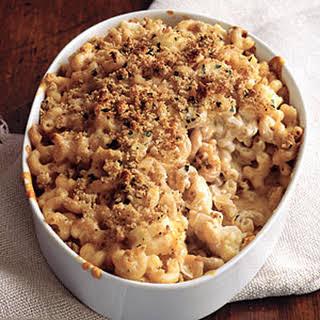 Macaroni and Cheese with Cauliflower.
