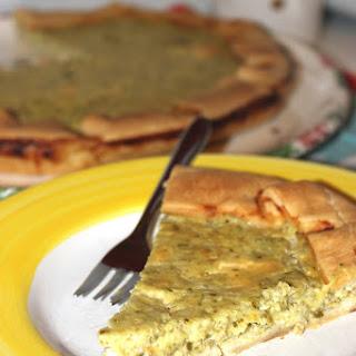 Cheese and Zucchini Tart.