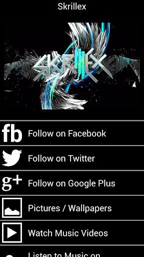 Skrillex Fan App and More