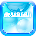 Learn Swedish Bubble Bath Game icon