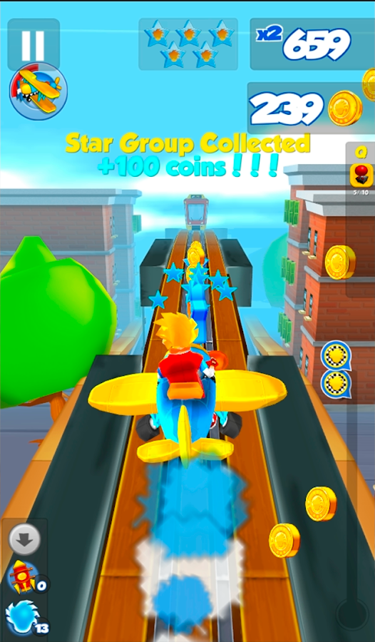 Get Ghost! Stunt Bike Runner- screenshot