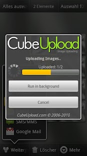 CubeUpload- screenshot thumbnail