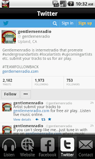 Gentlemen Radio- screenshot thumbnail