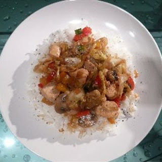 Easy Chicken Stir-Fry.