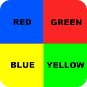 Colorblind Brain teaser rbgy