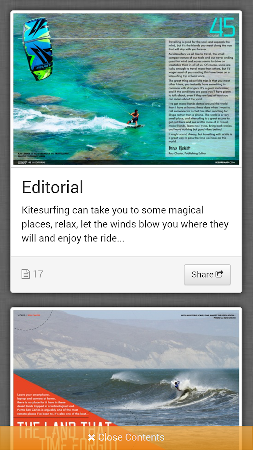 IKSURFMAG Free Kitesurfing Mag - screenshot