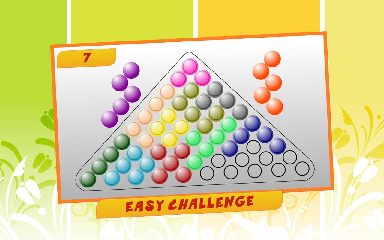 Zen Triangle : board puzzle- screenshot