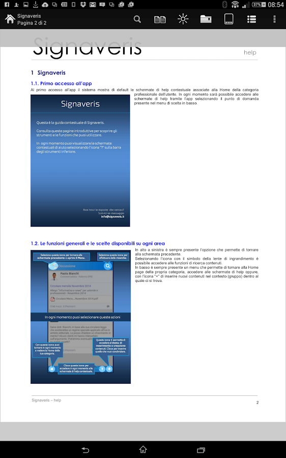 Signaveris Communication- screenshot
