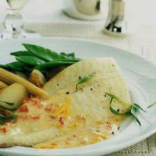 Turbot With Sauce Maltaise.