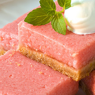 Mouth-Watering Watermelon Bars.