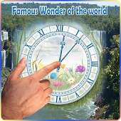 Famous wonder of d world Clock