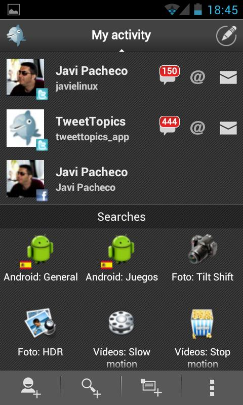 TweetTopics 2.0 (Beta) - screenshot