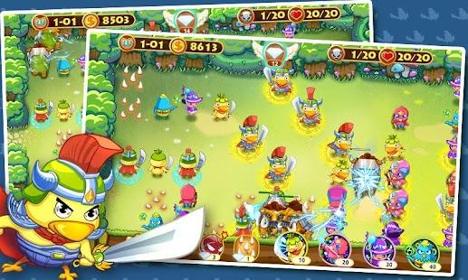 玩休閒App|TD 忍者小鸡免費|APP試玩