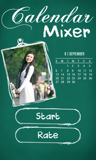 Calendar Mixer Photo 2015