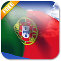3D Portugal Flag LWP icon