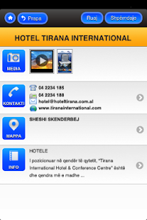 Albania Yellow Pages- screenshot thumbnail