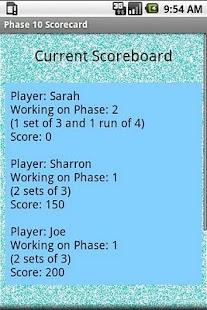 玩紙牌App|Phase 10 Scoreboard免費|APP試玩