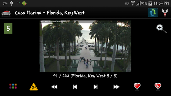 Florida Cameras - Traffic cams - náhled