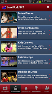 LoveWorld SAT Mobile- screenshot thumbnail