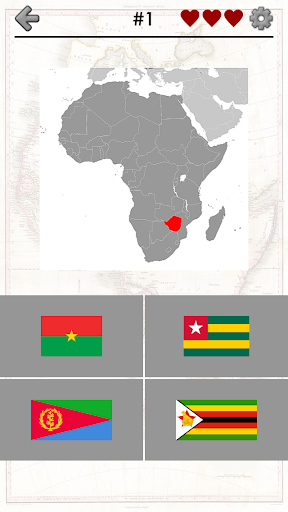 African Countries: Africa Quiz