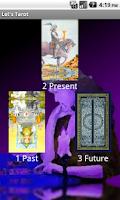 Screenshot of Let's Tarot (Tarot reading)