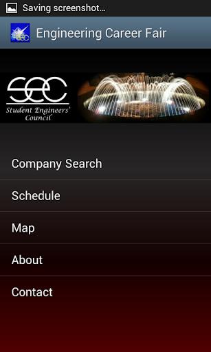 Engineering Career Fair App