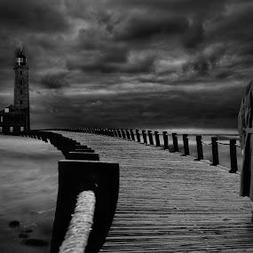 the bridge by Nuno Henriques - Black & White Landscapes