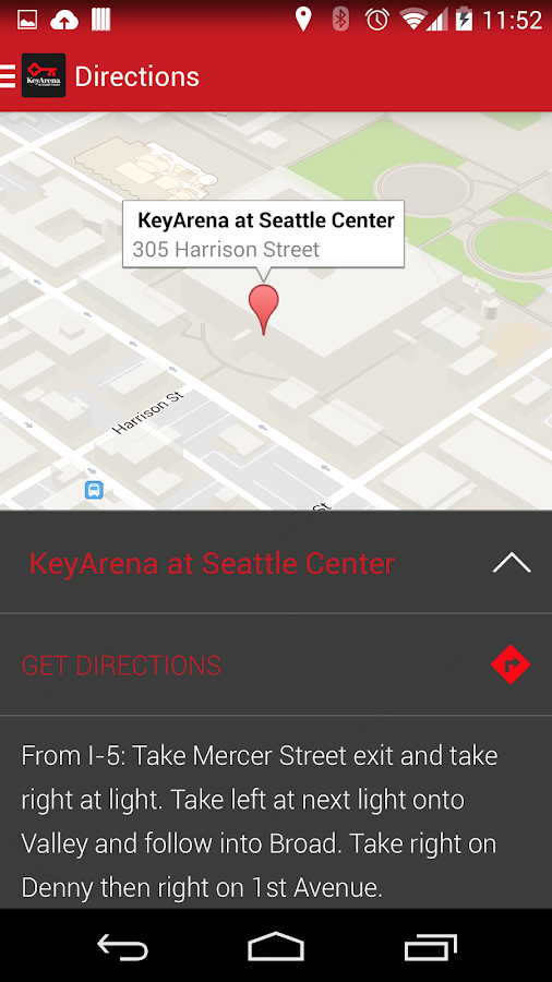 KeyArena - screenshot