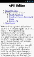 Screenshot of APK Editor Pro