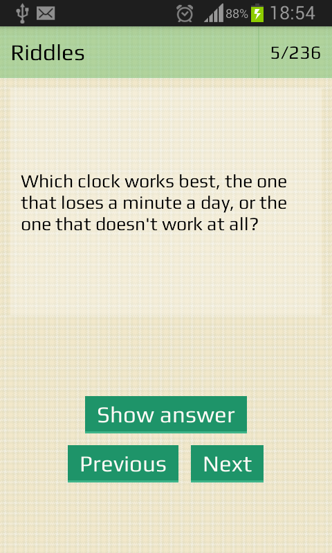 Riddles with answers free - screenshot
