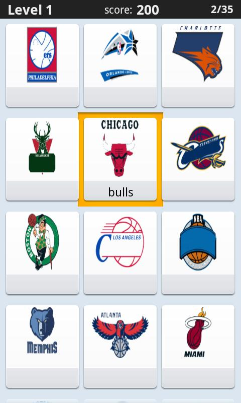 Logo Quiz - Sports Logos - screenshot