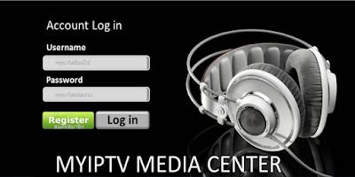 Screenshot of MyIPTV