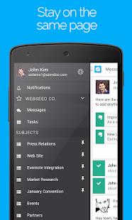 Azendoo, Teamwork simplified- screenshot thumbnail