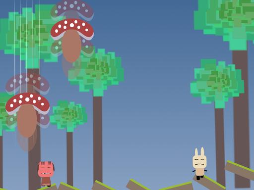 Alice in the Mushroom Hole