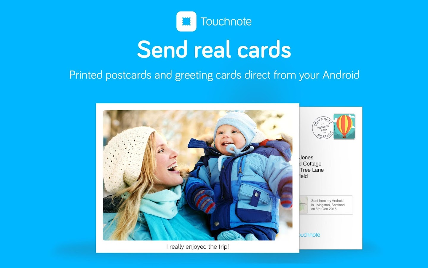 Touchnote - screenshot