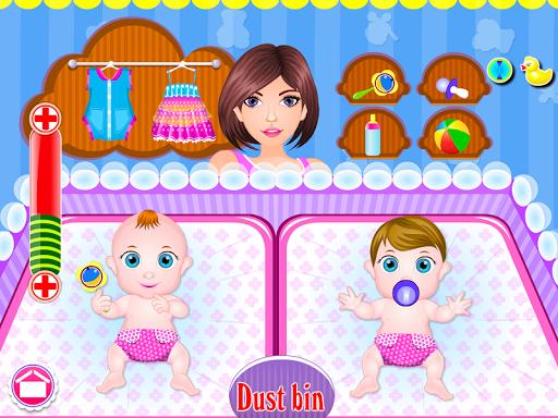 Newborn twins girls games 8.0.2 screenshots 7